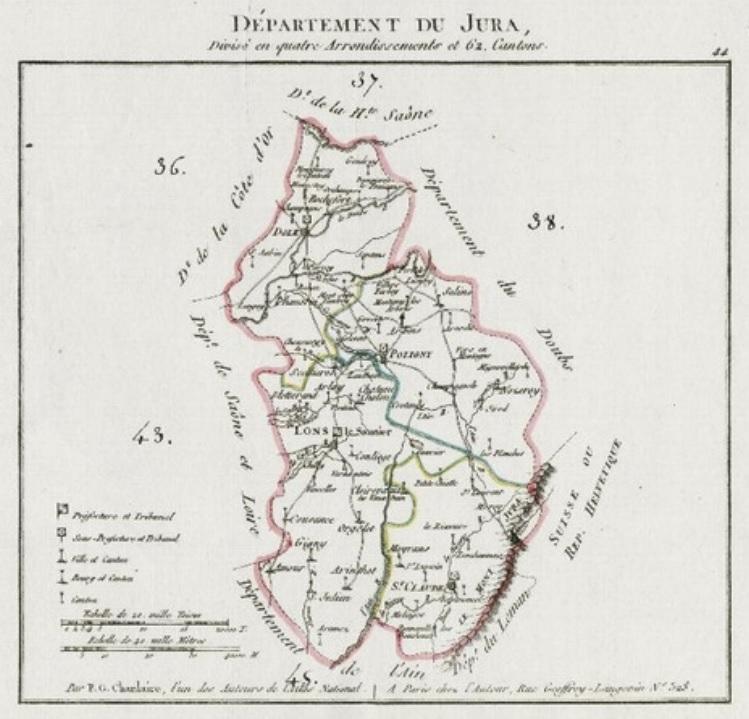 Le Jura : Le Cadre Physique Et Historique