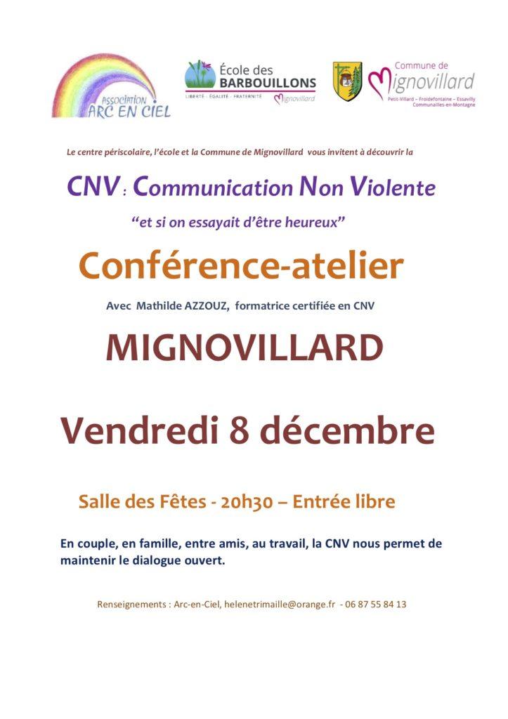 Conférence-atelier sur la communication non violente