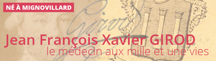 Jean François Xavier Girod : Avant-propos