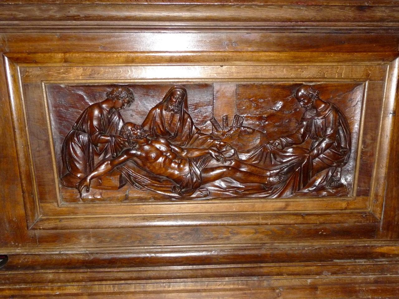 Autel sculpté par Augustin Fauconnet