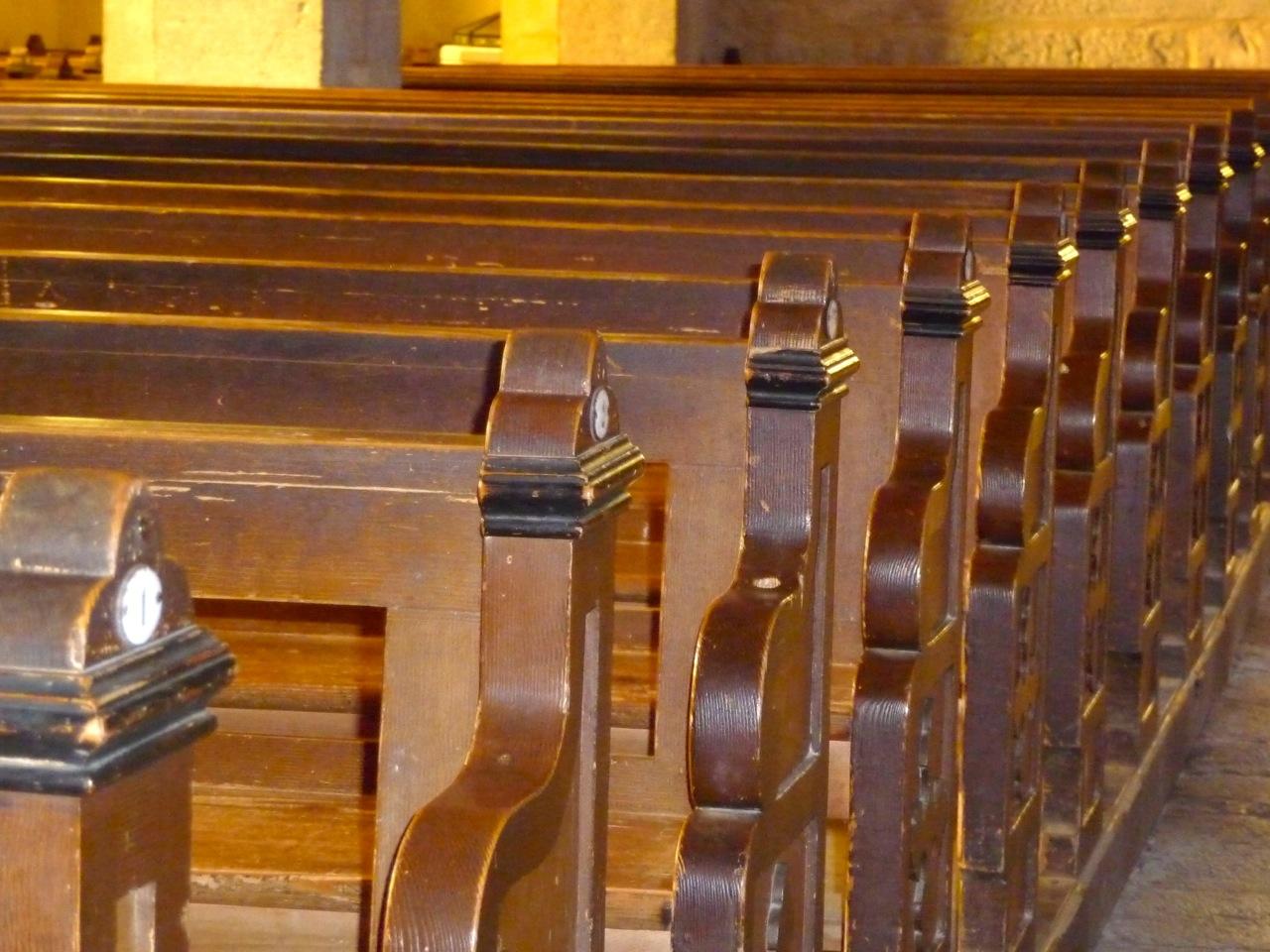 Bancs De L'église Saint-Michel