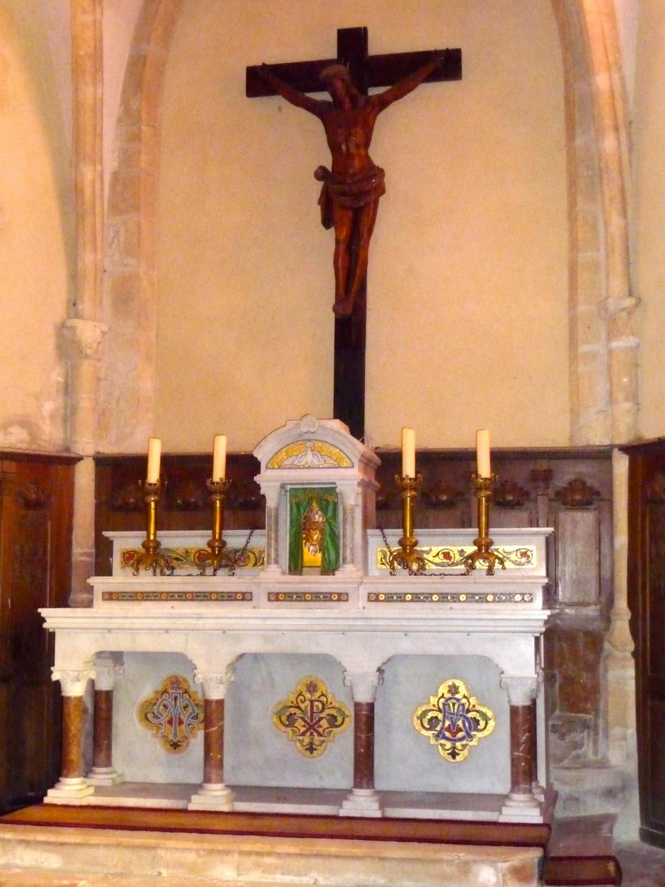 Chœur De L'église Saint-Michel