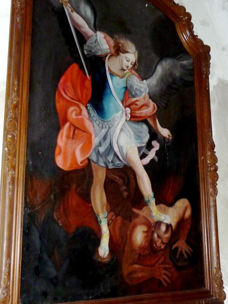 Tableau Représentant Saint-Michel