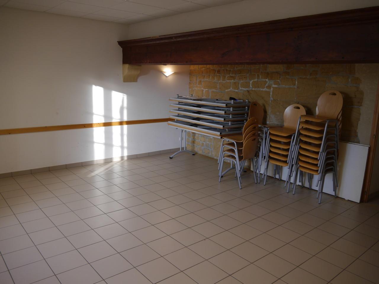 Salle de convivialité