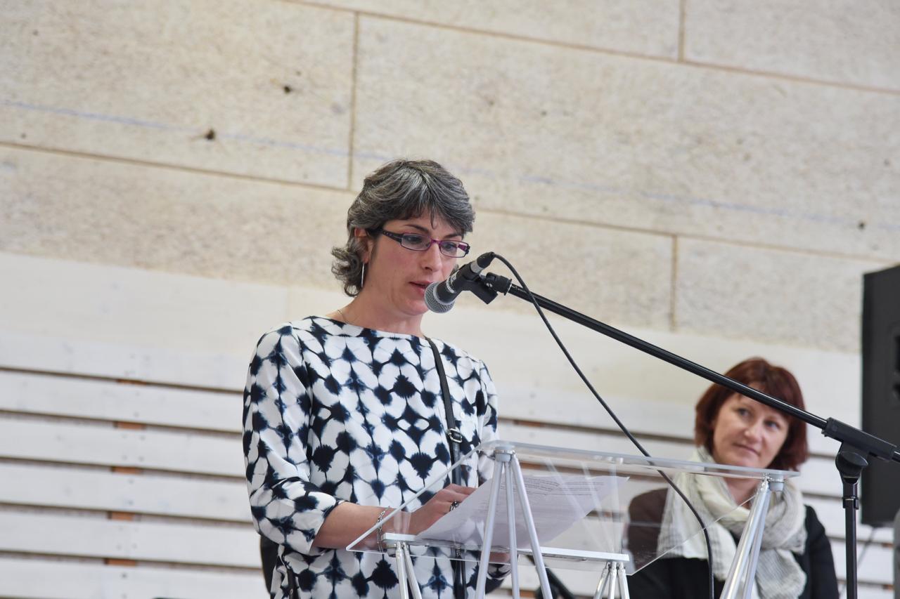 Discours D'Emmanuelle BOURGEOIS, Présidente Du Basket Cuvier Frasne