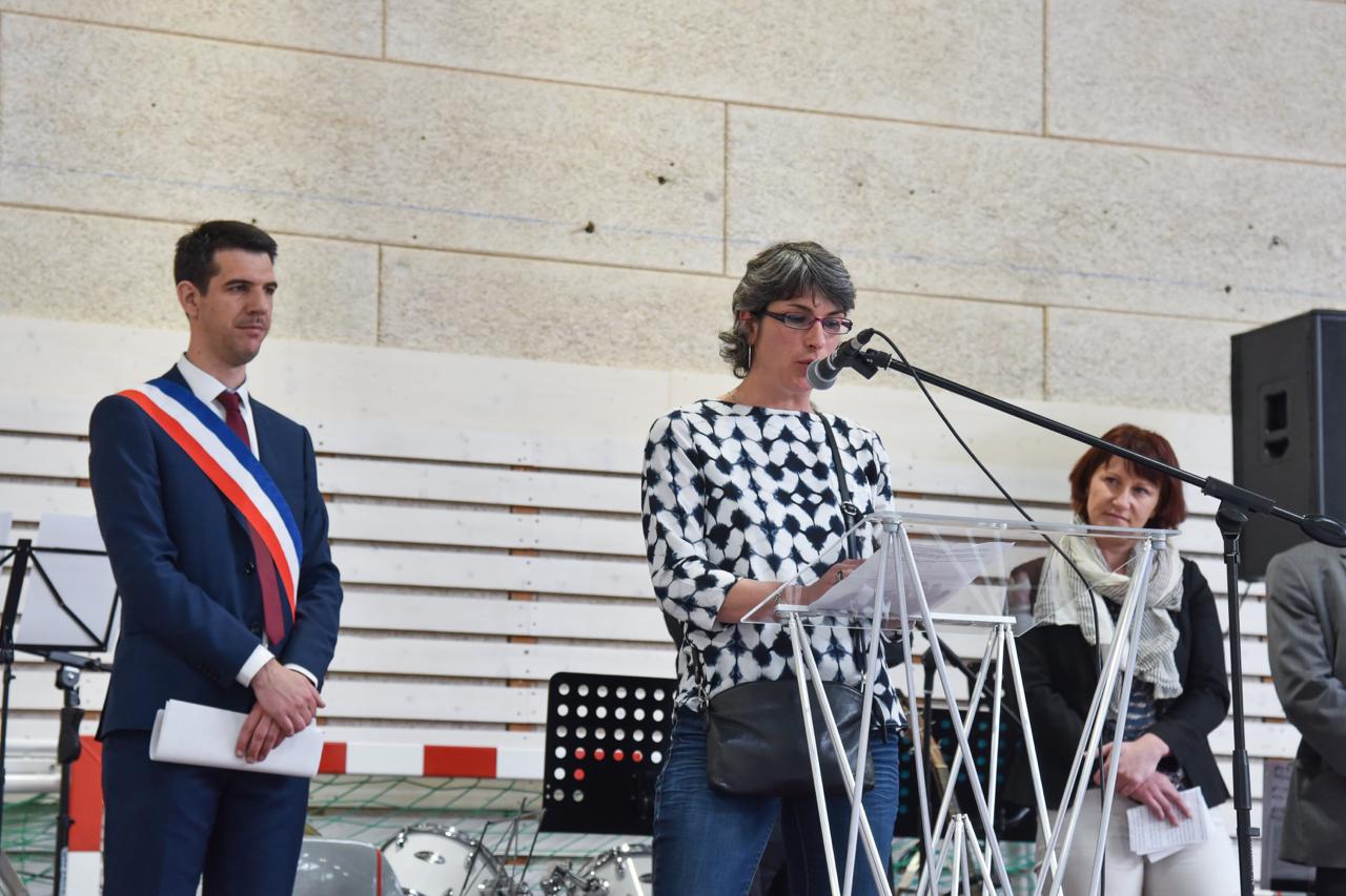 Emmanuelle BOURGEOIS Est Intervenue Au Nom Des Clubs Sportifs