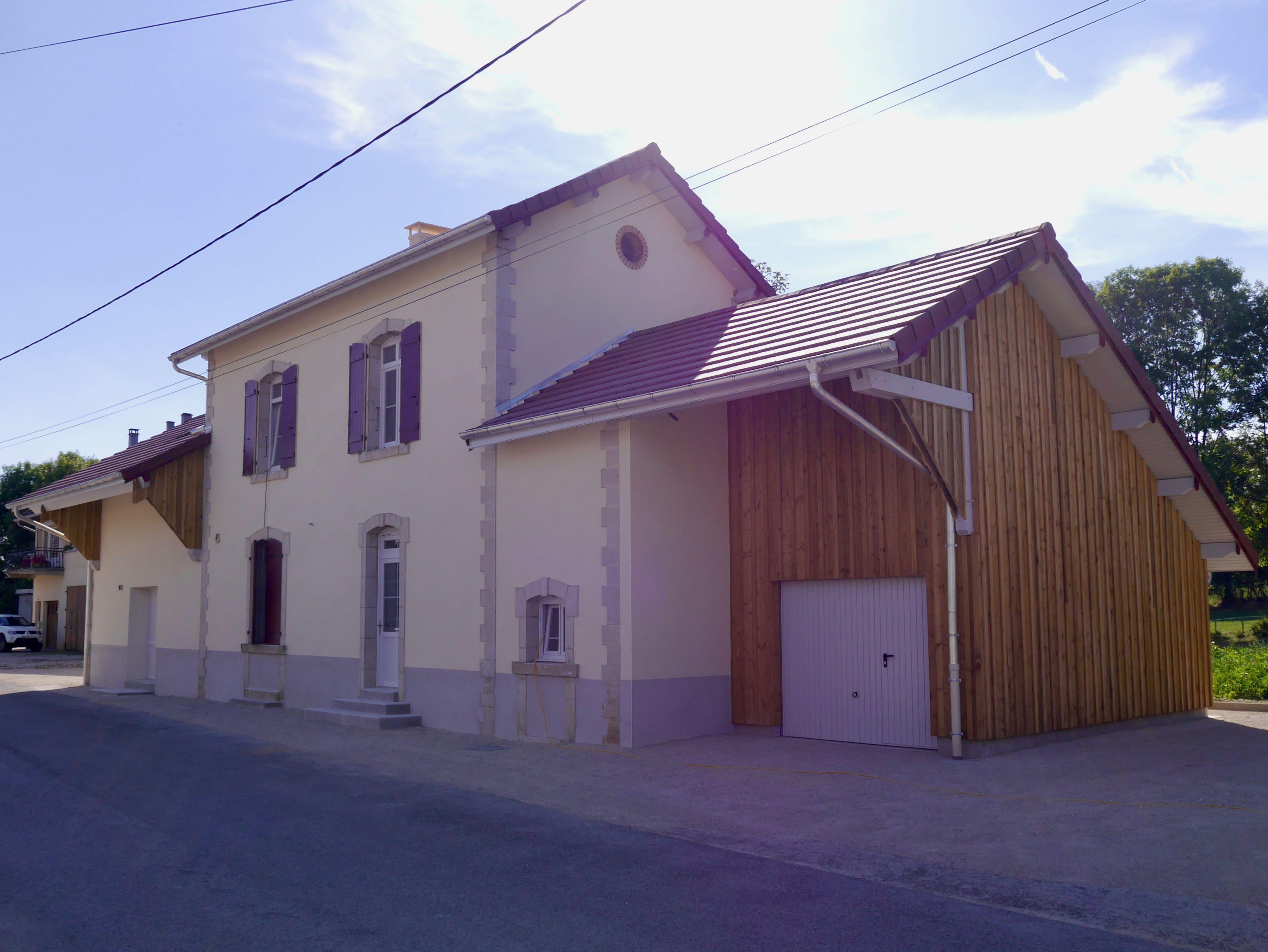 Vue Générale De L'ancienne Gare