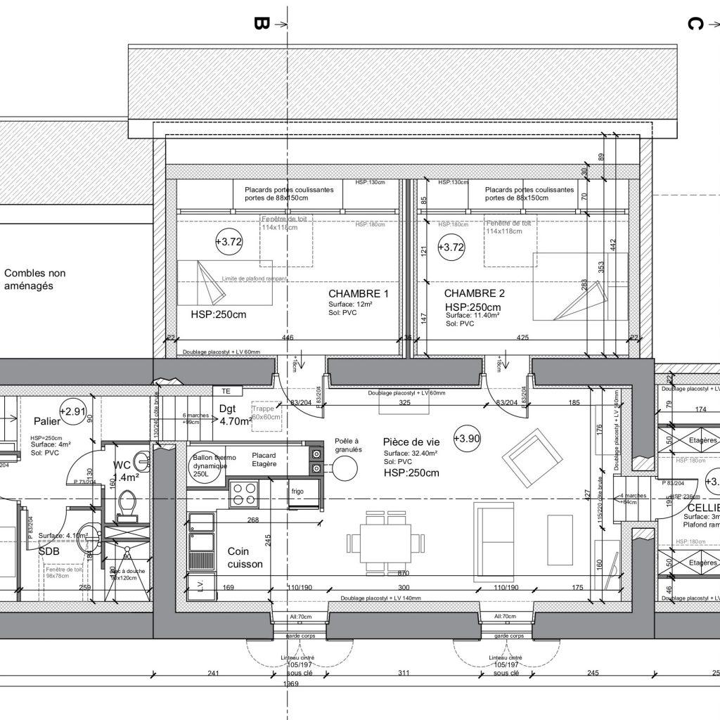 Plan Du 1er étage
