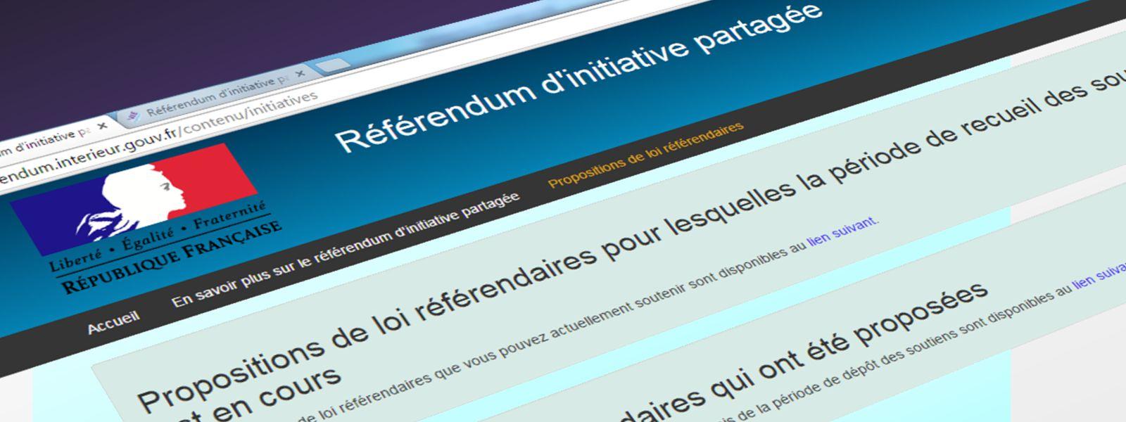Référendum D'initiative Partagée : Exploitation Des Aérodromes De Paris