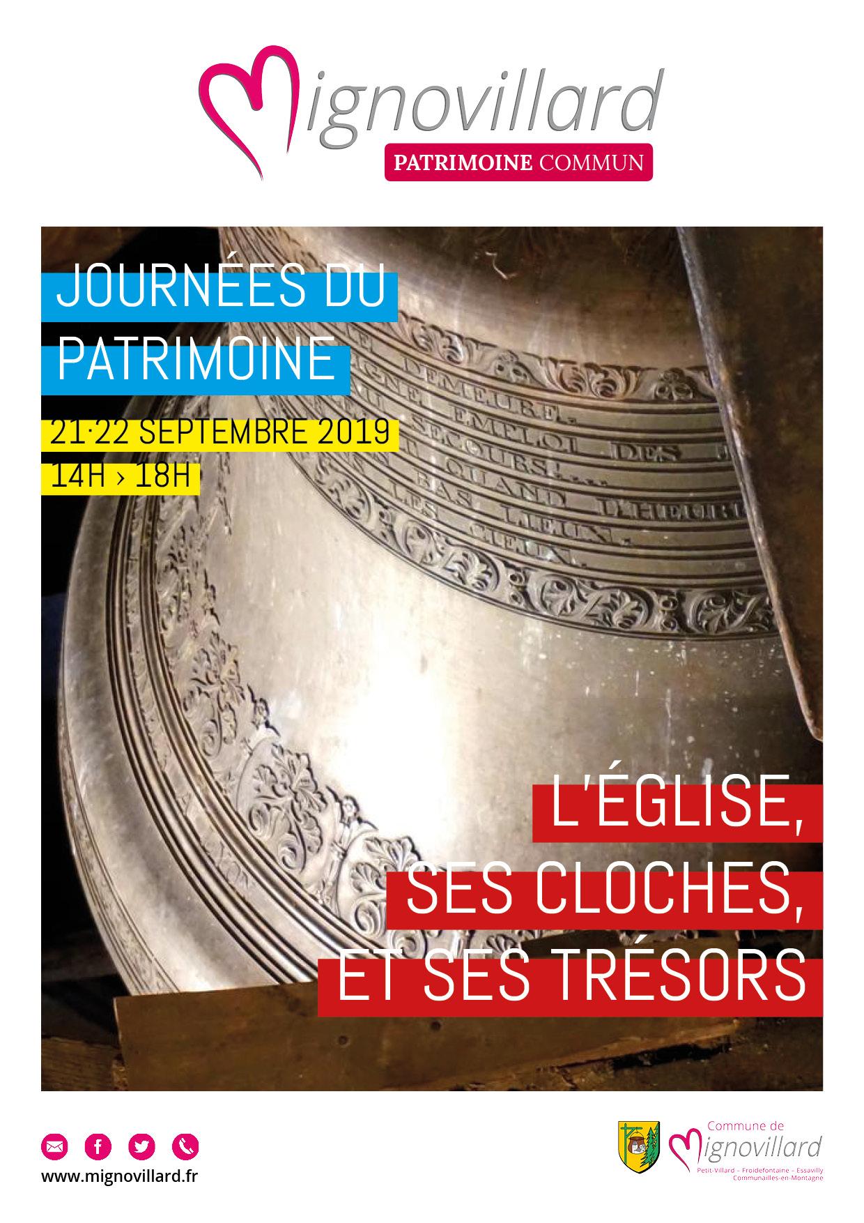L'église, Ses Cloches Et Ses Trésors Pour Les Journées Du Patrimoine